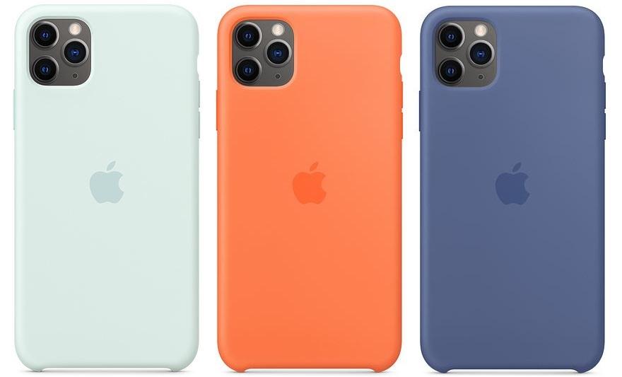 Новые оригинальные силиконовые ремешки для Apple Watch и чехлы для iPhone вышли в новых летних цветах