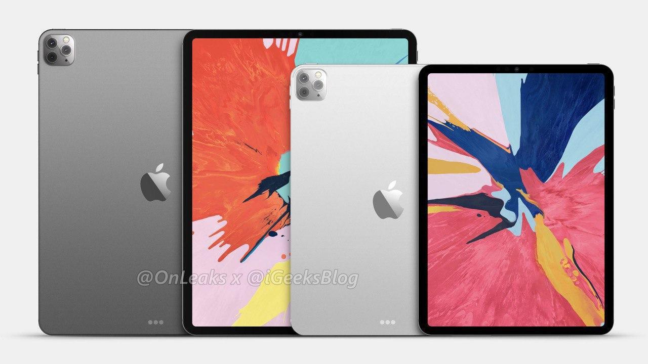 OnLeaks опубликовал рендер iPad Pro 2020