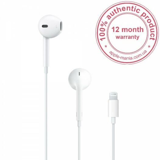 Apple EarPods with Lightning Connector MMTN2