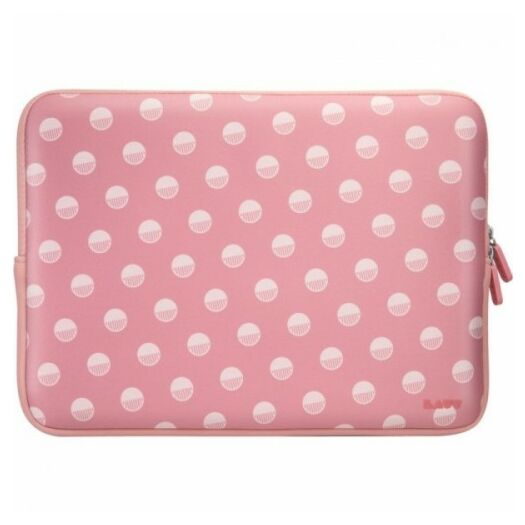 Cover LAUT Pop Protective Sleeve Polka Pink for MacBook 13 LAUT_MB13_POP_PK