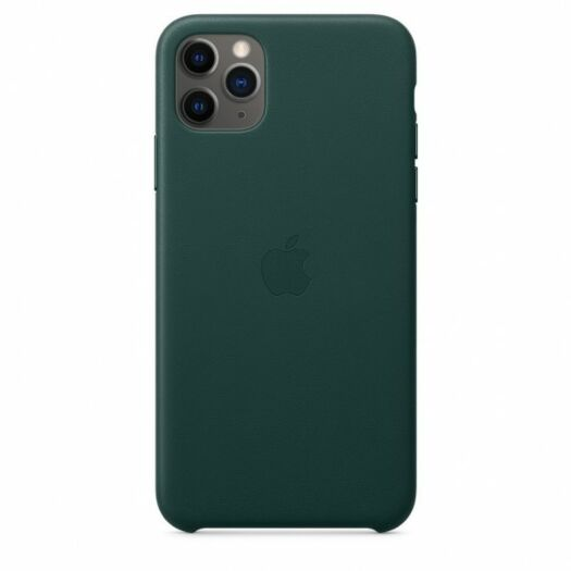 iPhone 11 Pro Max Leather Case - Forest Green (MX0C2) MX0C2