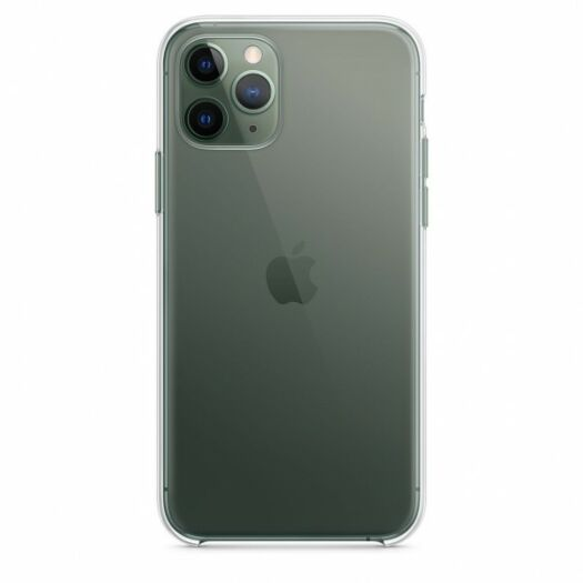 Cover iPhone 11 Pro Clear Case iPhone 11 Pro White (High Copy)