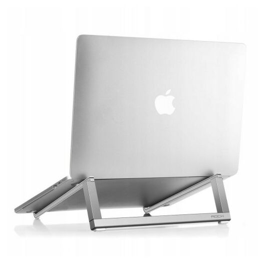 ROCK Portable Laptop Stand Silver RPH0794