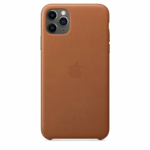 iPhone 11 Pro Max Leather Case - Saddle Brown (MX0D2) MX0D2