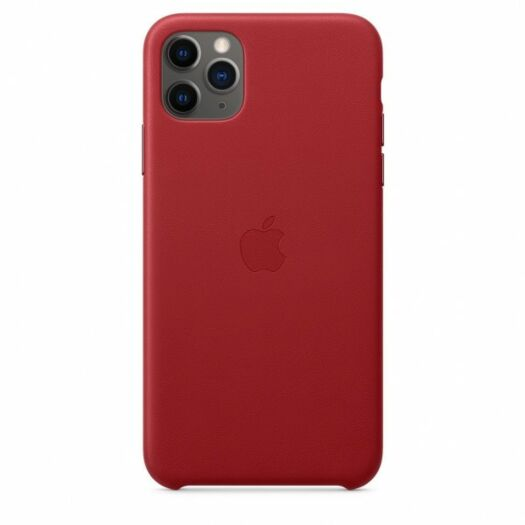 iPhone 11 Pro Leather Case - (Product) RED (MWYF2) 000013636