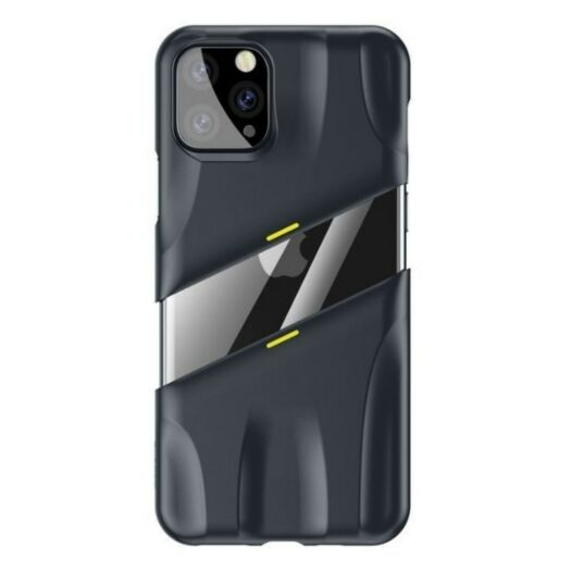 Baseus Let's go Airflow Cooling Game Case for iPhone 11Pro Max Grey/Yellow WIAPIPH65S-GMGY
