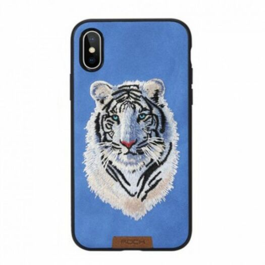 Cover iaeeaaea Rock Best Series Embroidery for IPhone X/XS - TIGER RPC1348