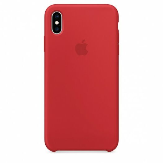 Cover iPhone XS Max Silicone Case - (PRODUCT)RED (MRWH2) MRWH2
