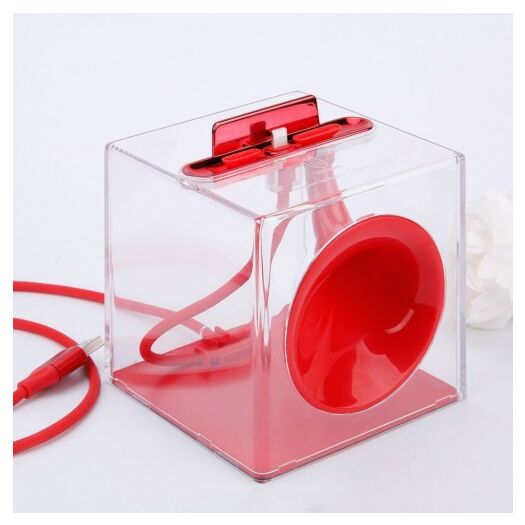 Baseus Amplify sound charging station - Red SUHJH-09