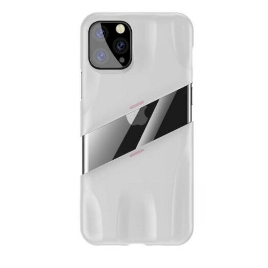 Чехол Baseus Let's go Airflow Cooling Game Case for iPhone 11 Pro White/Pink 000014054
