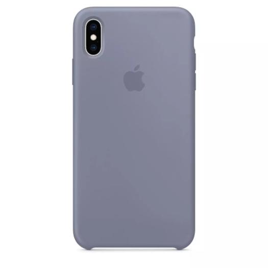 Чехол iPhone Xs Max Lavander Gray Silicone Case (Copy) 000011231