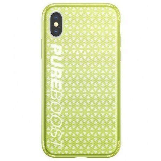 Cover Baseus Parkour Case for iPhone X/Xs - Lemon Green WIAPIPHX-KP06