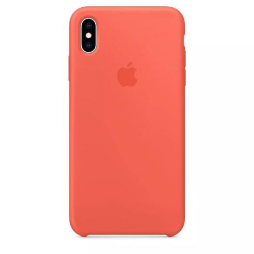 Чехол iPhone Xs Max Nectarine Silicone Case (Copy) 000011232