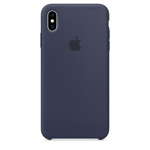Cover iPhone XS Max Silicone Case - Midnight Blue (MRWG2) MRWG2