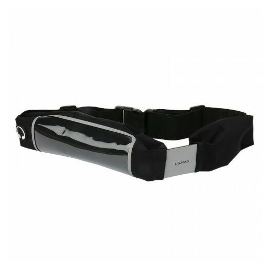 Usams Waterpoof waist bag - Black 47YDYB01