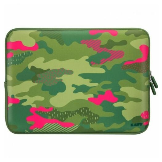 Cover LAUT Pop Camo Protective Sleeve Tropical for MacBook 13 LAUT_MB13_PC_T