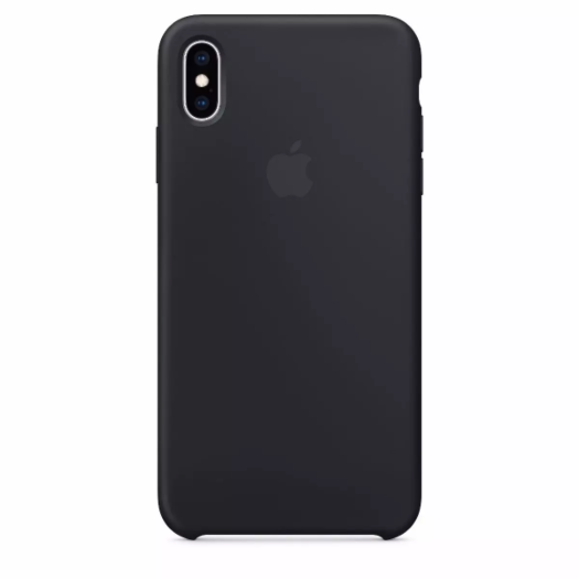 Cover iPhone Xs Max Black Silicone Case (High Copy) iPhone Xs Max Black Silicone Case High Copy