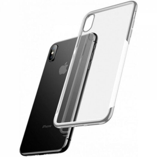 Cover Baseus Shining Case TPU for iPhone X/Xs - Silver ARAPIPH58-MD0S