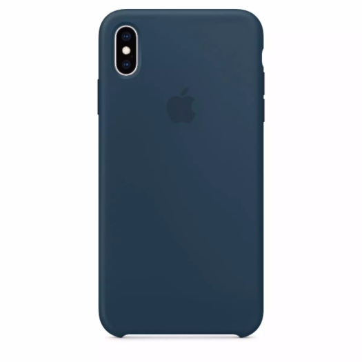 Cover iPhone Xs Max Cosmos Blue Silicone Case (High Copy) iPhone Xs Max Cosmos Blue Silicone Case High Copy