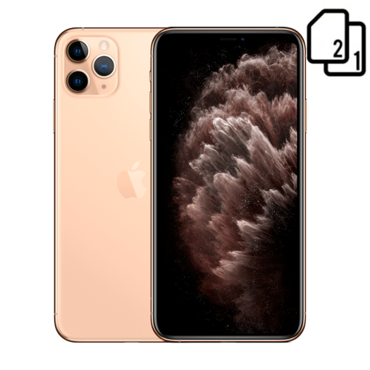 Apple iPhone 11 Pro Max 256GB Dual Sim Gold HK MWF32-HK
