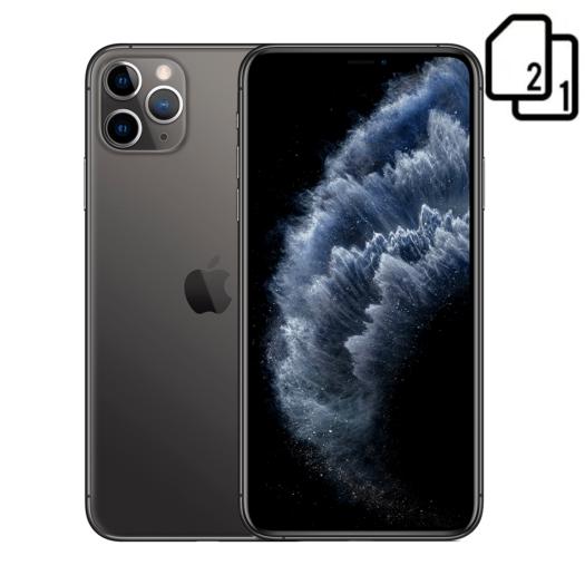 Apple iPhone 11 Pro Max 256GB Dual Sim Space Gray (MWF12) MWF12-HK