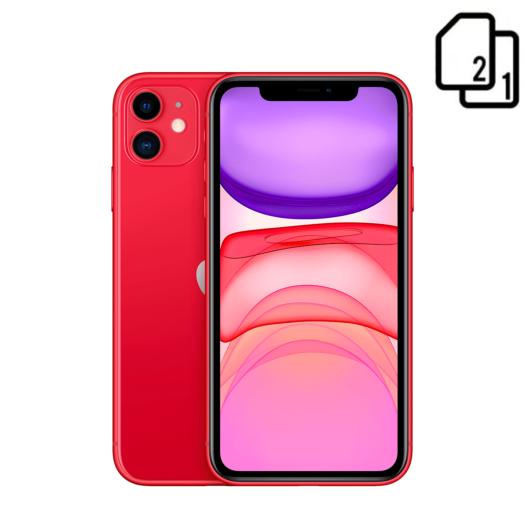 Apple iPhone 11 64GB Dual Sim Red (MWN22) MWN22-HK