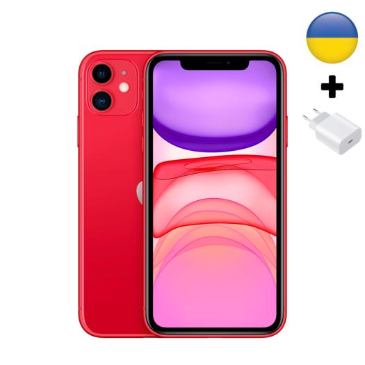 Apple iPhone 11 128Gb Red UA (MWLG2) MWLG2-UA