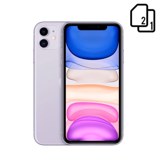 Apple iPhone 11 64GB Dual Sim Purple (MWN52) MWN52-HK