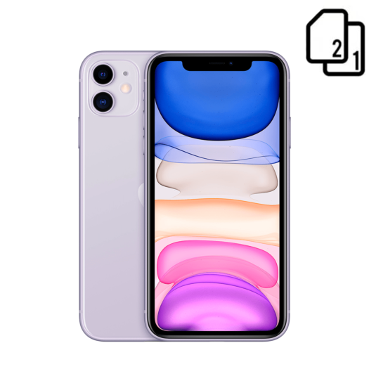 Apple iPhone 11 256GB Dual Sim Purple HK 000015834