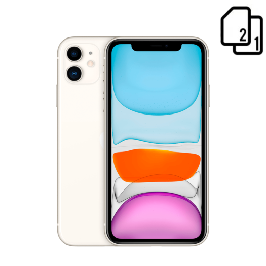 Apple iPhone 11 64GB Dual Sim White HK 000013431
