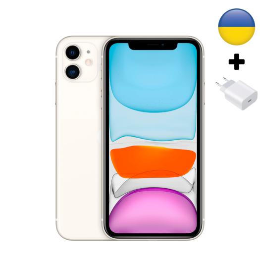 Apple iPhone 11 128Gb White (MWLF2-UA) MWLF2-UA