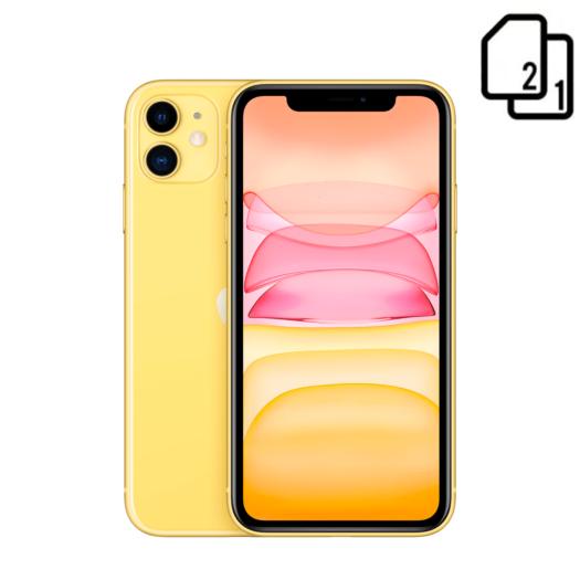 Apple iPhone 11 128GB Dual Sim Yellow (MWNC2) MWNC2-HK