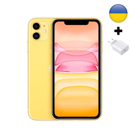 Apple iPhone 11 128Gb Yellow UA (MWLH2) MWLH2-UA