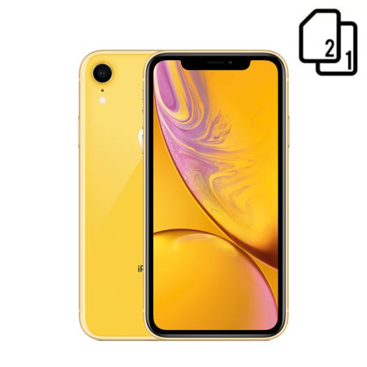Apple iPhone XR Dual Sim 256Gb (Yellow) MT1M2