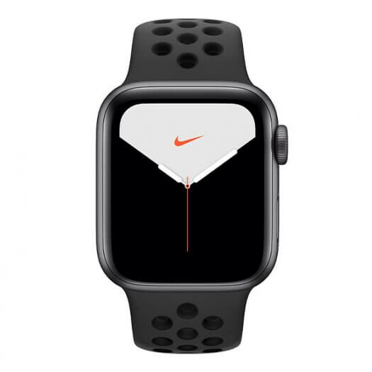 Apple Watch Nike Series 5 GPS 40mm Space Grey Aluminium Case with Anthracite Black Nike Sport Band (MX3T2) MX3T2
