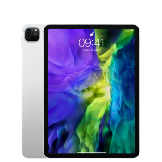 iPad Pro 11 2020 Wi-Fi + LTE 256GB Silver MXEX2