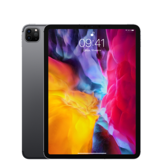 iPad Pro 11 2020 Wi-Fi + LTE 512GB Space Gray MXEY2