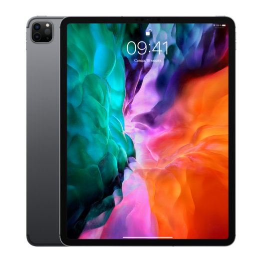 iPad Pro 12.9 2020 Wi-Fi + LTE 512GB Space Gray MXG02