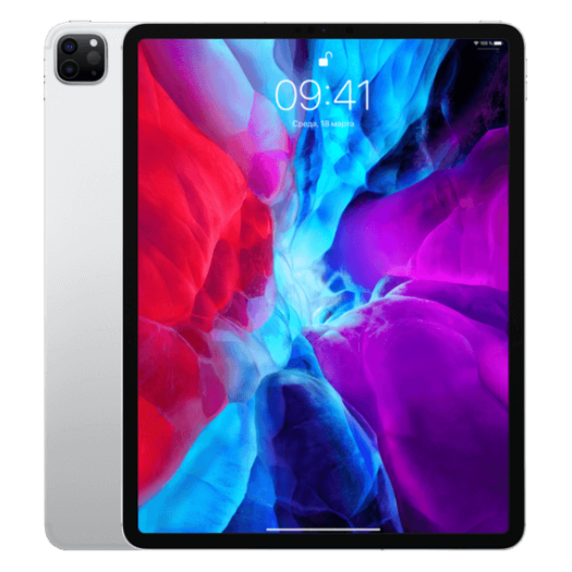 iPad Pro 12.9 2020 Wi-Fi + LTE 512GB Silver MXG12