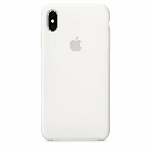 Cover iPhone XS Max Silicone Case - White (MRWF2) MRWF2