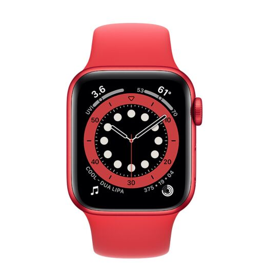 Apple Watch Series 6 40mm PRODUCT(RED) Aluminum Case with Red Sport Band (M00A3) 000016000